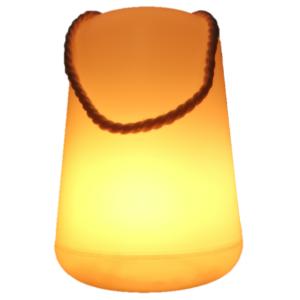 Lampion z Efektem Płomienia ze sznurkiem